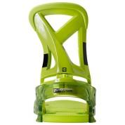 Wiązania snowboardowe Burton Custom zielony tył