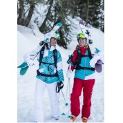 Kurtka narciarska Rossignol W Flame RP JKT grafika