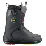Buty snowboardowe Salomon Launch czarny|czerwony|żółty