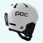 Kask POC Fornix biały widok z tyłu