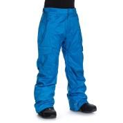 Spodnie Quiksliver Black Porter 10K PTN z  boku niebieskie