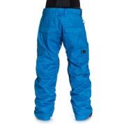 Spodnie Quiksliver Porter 10K PTN z tyłu niebieskie