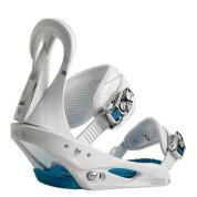 Wiązania snowboardowe Burton Citizen białe
