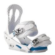Wiązania snowboardowe Burton Citizen białe skos
