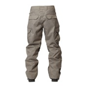 Spodnie DC Donon 14 szare z tyłu