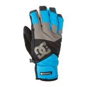 Rękawice Dc Seger  14 niebiesko|szaro|czarne