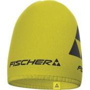 Czapka Fischer Beanie Long Logo żółta