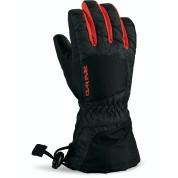 Rękawice Dakine Tracker Jr Glove czarno|pomarańczowe