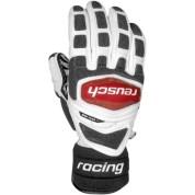 Rękawice  Reusch  Race-Tec Gigant Slalom czarno|biało|czerwone