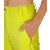 Spodnie The North Face Bansko żółty kieszeń