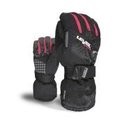 Rękawice Level Womens Half Pipe XCR czarno|czerwone