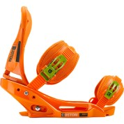 Wiązania snowboardowe Burton Custom EST pomarańczowy