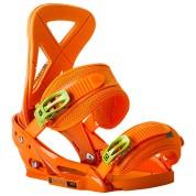 Wiązania snowboardowe Burton Custom EST pomarańczowy skos