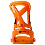 Wiązania snowboardowe Burton Custom EST pomarańczowy tył