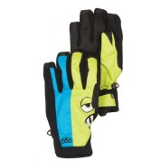 Rękawice 686 Snaggleface Pipe czarny|niebieski|zielony