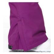 Spodnie snowboardowe DC Ace fioletowe nogawka