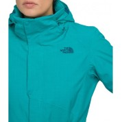 Kurtka The North Face  Women's Lauberhorn Novelty  niebieska logo
