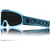 GOGLE DRAGON DX2 BLUE|DARK SMOKE