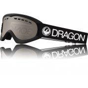 GOGLE DRAGON DXS BLACK|SILVER ION