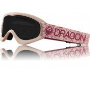 GOGLE DRAGON DXS PINK|DARK SMOKE