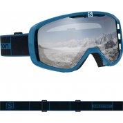 GOGLE SALOMON AKSIUM NAVY BLUE|SUPER WHITE L408450
