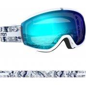 GOGLE SALOMON IVY WHITE GLITCH|MID BLUE L408469