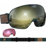 GOGLE SALOMON SMAX SIGMA GREEN GABLE|BLACK GOLD L408401