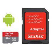 KARTA PAMIĘCI SANDISK MICRO SDHC CLASS ULTRA 32GB