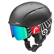 KASK HEAD AGENT BLACK