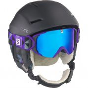 KASK SALOMON AURA CUSTOM AIR CZARNY 3
