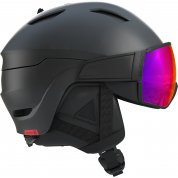KASK SALOMON DRIVER BLACK|RED ACCENT|SOLAR L405932