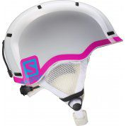 KASK SALOMON GROM WHITE GLOSSY|PINK 377735