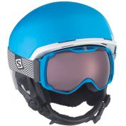 KASK SALOMON HACKER BLUE MATT WHITE.