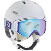 KASK SALOMON ICON 4D WHITE MATT 1