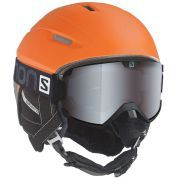 KASK SALOMON RANGER 4D C. AIR ORANGE BLACK MATT.