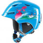 KASK UVEX  AIRWING 2 BLUE DRAGON