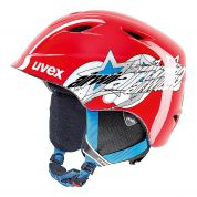 KASK UVEX AIRWING 2 RED STAR