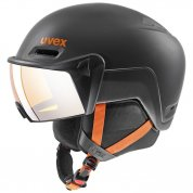 KASK UVEX HLMT 700 VISOR DARK SLATE ORANGE MAT