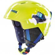 KASK UVEX MANIC LIME CATERPILLAR