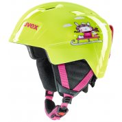 KASK UVEX MANIC LIME SNOW BUNNY
