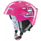 KASK UVEX MANIC PINK SNOW BUNNY