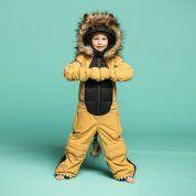KOMBINEZON WEEDO LION SNOWSUIT NA DZIECKU PRZÓD