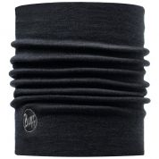 KOMIN BUFF WOOL THERMAL NECKWARMER BLACK