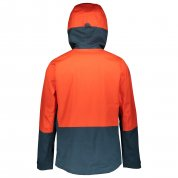 KURTKA SCOTT EXPLORAIR TANGERINGE ORANGE|NIGHTFALL BLUE 2
