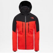 KURTKA THE NORTH FACE CHAKAL FIERY RED|BLACK 1