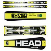 NARTY HEAD ISUPERSHAPE SPEED + WIĄZANIA PRX 12 S BR 85