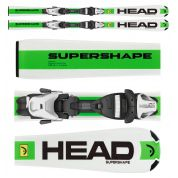 NARTY HEAD SUPERSHAPE LR + WIĄZANIA LRX 7.5 AC BR 78
