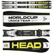 NARTY HEAD WORLDCUP i.RACE TEAM LR + WIĄZANIA LRX 7.5 AC BR 78