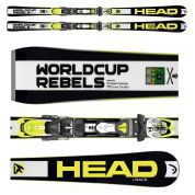NARTY HEAD WORLDCUP REBELS i.RACE + WIĄZANIA FREEFLEX PRO 14 BRAKE 85