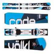 NARTY VOELKL CODE SPEEDWALL S UVO + WIĄZANIA RMOTION 2 12.0 D CODE BLUE 1